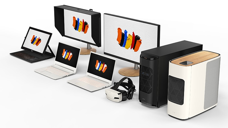 Acer ConceptD Brand of Desktops, Laptops, Monitors Introduced, Designed Specially for Professional Content Creators