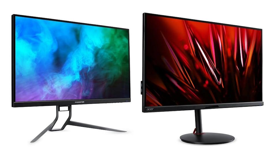 Acer Predator XB273U NX, Predator XB323QK NV, Nitro XV282K KV Gaming Monitors Launched