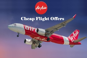 "AirAsia Offer on Domestic Flight 2018: Book Flight Tickets Starting <span class=""rupee"">Rs.</span>850"