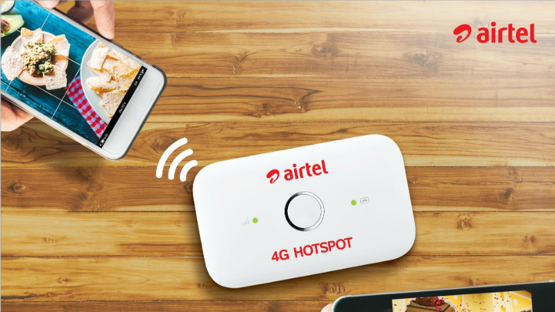 Airtel 4G Hotspot now available for Rs 999