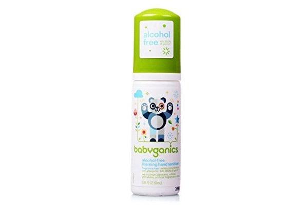 Best Hand Sanitizer, Babyganics Hand Sanitizer