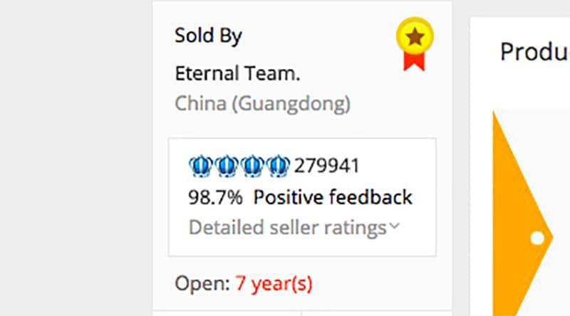 Ali Rating seller_rating  Ali_Express