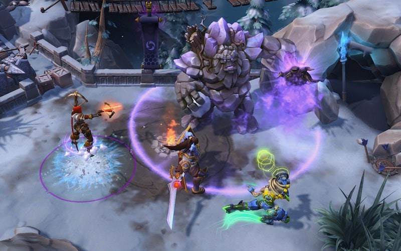 Alterac Pass Battleground Gameplay 1 echoes_of_alterac