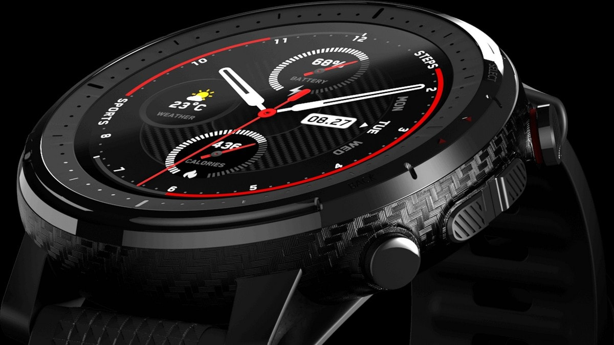 Amazfit Stratos 3 With Up to 14-Day Battery Life, 5ATM Water ...