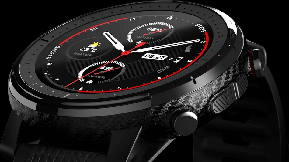 Amazfit Stratos 3 With Up to 14-Day Battery Life, 5ATM Water Resistance Launched in India