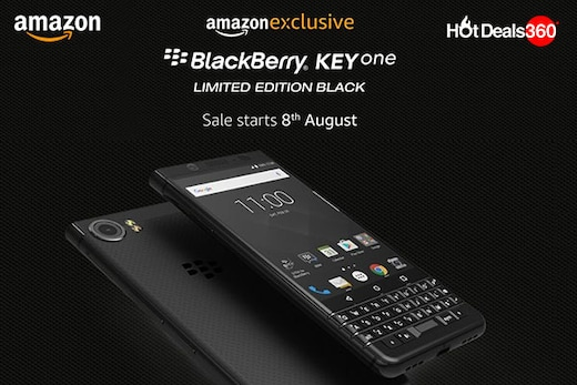 BlackBerry KEYone Sale To Begin Exclusively On 8th August on Amazon.in