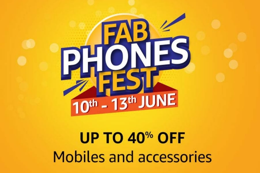 Amazon Fab Phones Fest : Upto 40% Off On Mobiles & Accessories