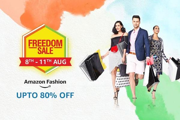 Amazon Freedom Sale Offers on Fashion