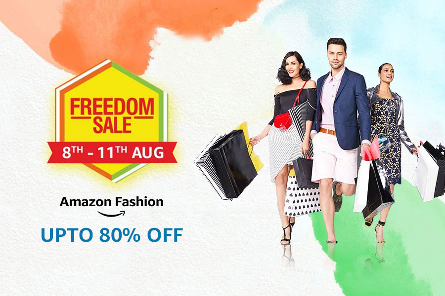 Amazon Freedom Sale Offers on Fashion