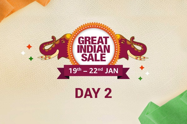 Day 2 of The Amazon Great Indian Sale Offer, 19th Jan-22nd Jan 2020, Check for Best Deals here!
