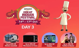 Day 3 of The Amazon Great Indian Festival Sale Offer, 14th-17th Oct 2017, Check for the Best Deals here!