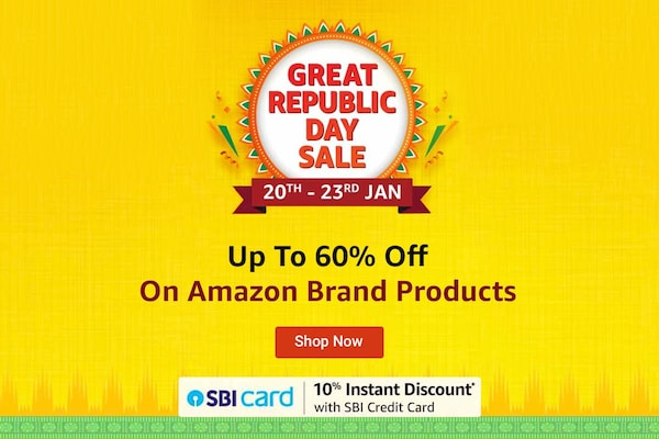 Amazon Great Republic Day Sale 2021: Up To 60% Off On Amazon Brand Products