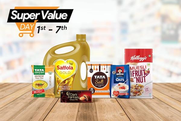 Amazon Super Value Day Sale, Offers (1st April - 7th April): Upto 50% OFF + CASHBACKS