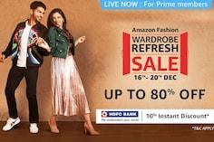 Amazon Wardrobe Refresh Sale (16-20 Dec 2020): Best Offers on All Fashion Brands