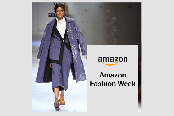 Amazon India Fashion Week: 11th October to 15th October 2017.Shop for Designers like Suneet Varma, Rohit Gandhi, Rina Dhaka and Others at the Amazon Fashion Week!