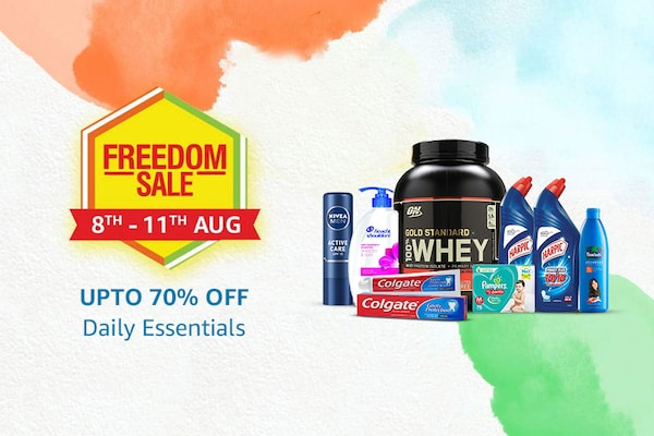 Amazon Freedom Sale Offers on Daily Essentials
