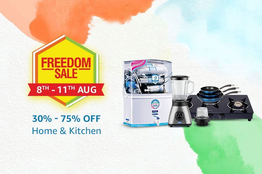 Amazon Freedom Sale Offers on Home and Kitchen
