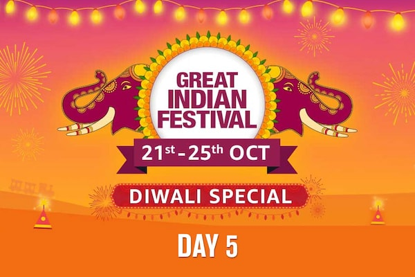 Day 5 of The Amazon Great Indian Festival Sale Offer, 21st Oct-25th Oct 2019