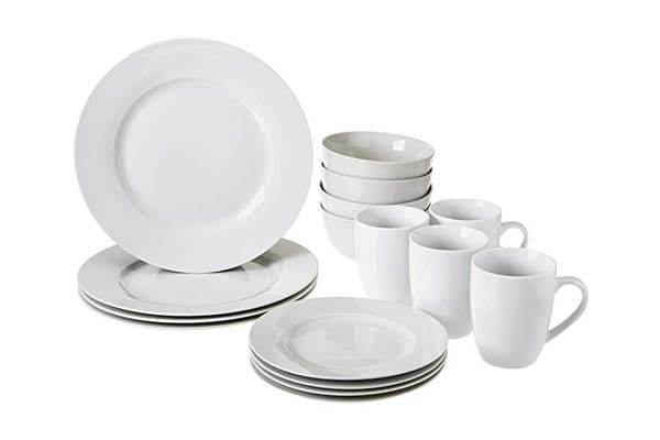 AmazonBasics Dinnerware Set 1556701280914