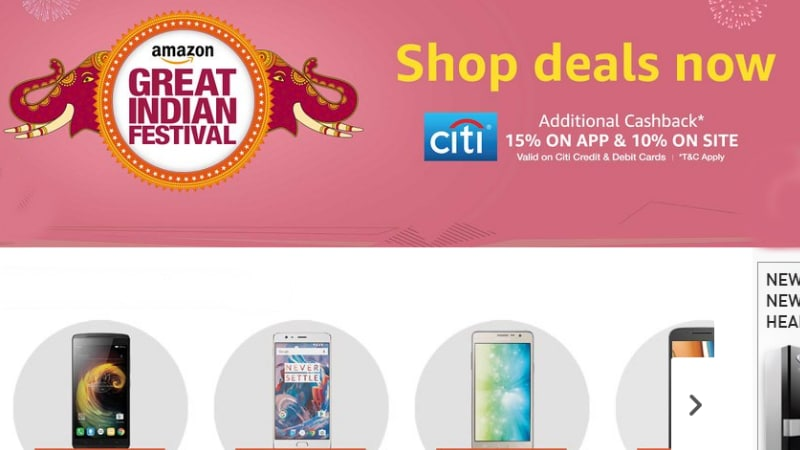 Amazon Sale Offers: OnePlus 2, Moto G4 Plus, More up for Grabs on Great Indian Festival Sale Last Day