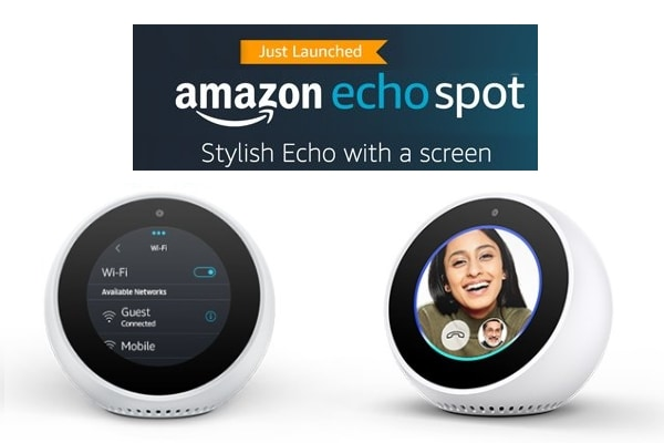 Amazon Echo Spot: Stylish Echo With Screen, Shop Exclusively On Amazon