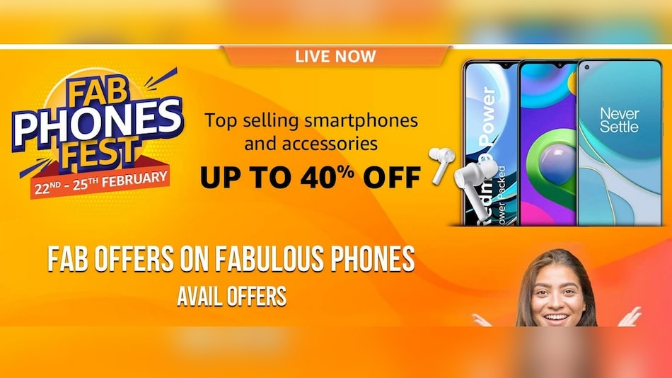 Amazon Fab Phones Fest Sale Brings Up to 40 Percent Discount on Samsung, Xiaomi, Apple Phones