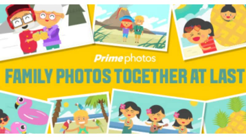 Amazon Introduces Family Vault to Share Prime Photos' Free Storage With Others
