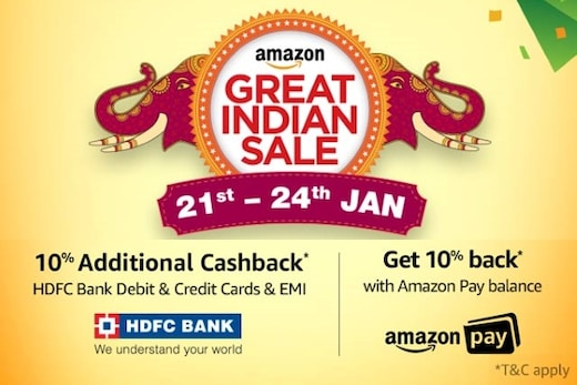Amazon Great Indian Sale : 80% OFF on Mobiles, Electronics, Fashion, Daily Essentials And More