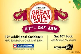 Amazon Great Indian Sale Announcement : 21st-24th January 2018