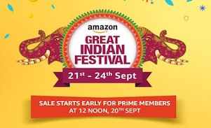 Amazon Great Indian Festival Sale Offers: 21-24 Sept 2017, Be Ready To Shop Ahead Of Festivals