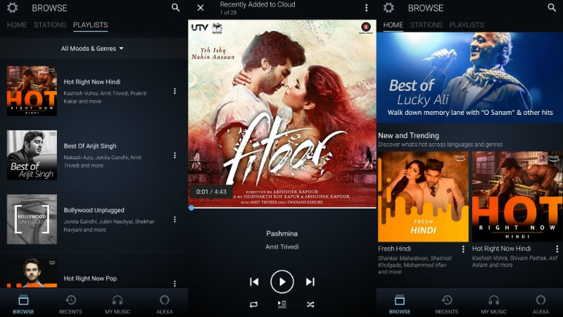 Apple Music vs Google Play Music vs Amazon Music vs Gaana and Others