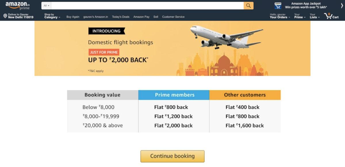 amazon-flight-booking-service