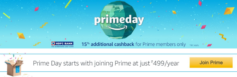 Amazon Prime Day Sale India July 11 Amazon Prime Day Sale Deals India July 11