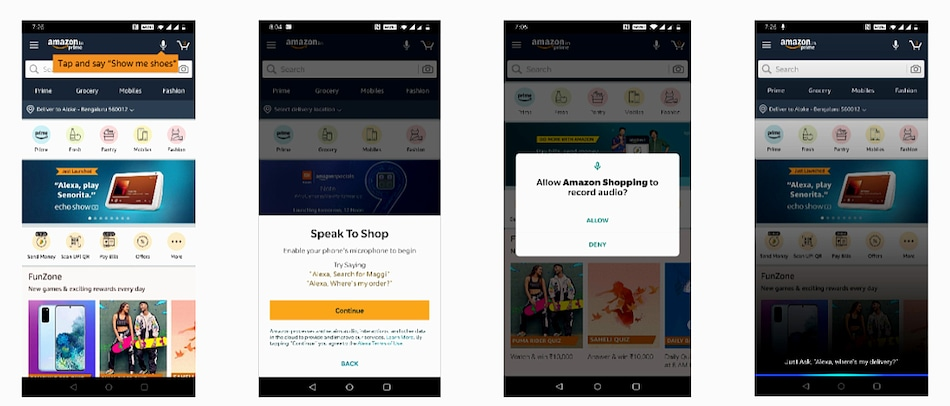 Amazon India Brings Alexa-Powered Voice-Based Shopping Experience to Its Android App