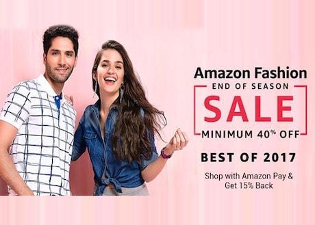 End of Season Sale 2017 on Amazon - Fashion Sale