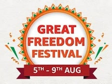 Amazon Great Freedom Festival Brings Big Discounts on Electronics: Details