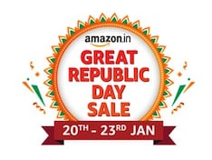 Amazon Great Republic Day Sale Begins on January 20 With Discounts on Smartphones, Electronics, TVs, More