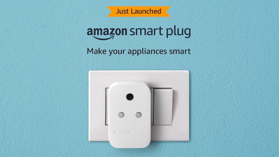 Amazon Smart Plug With Alexa Support Launched in India, Priced at Rs. 1,999
