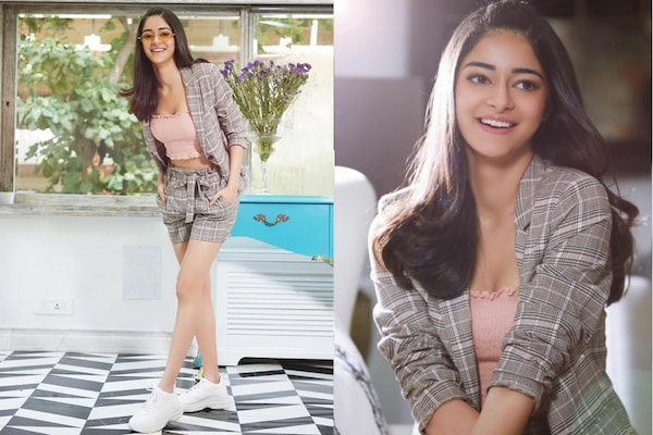 Shorts Power Suit For Summer: Ace It Up With Ananya Panday