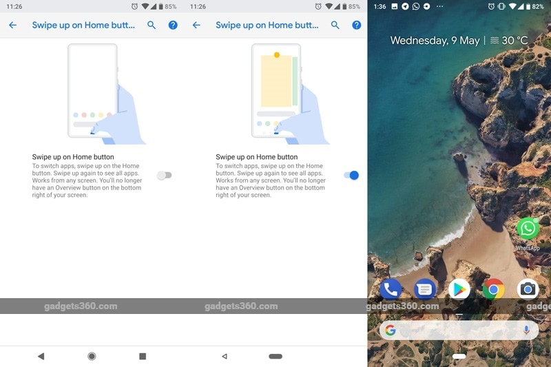 Android P Navigations 094818 124840 2489 Android P Features