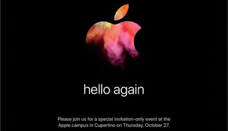 Apple Announces October 27 Event to End Mac Update Drought