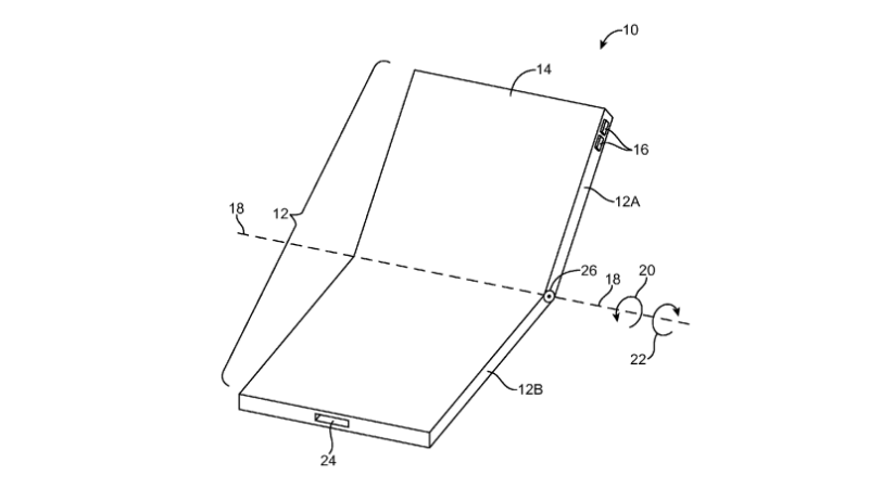Apple Files Patent for Foldable iPhone