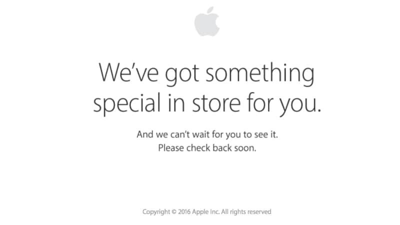 iPhone 7 Launch Preparations: Apple Store Goes Offline