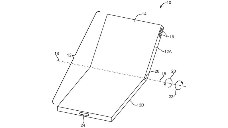 iPhone May Get a Foldable Design, Apple Patent Application Hints