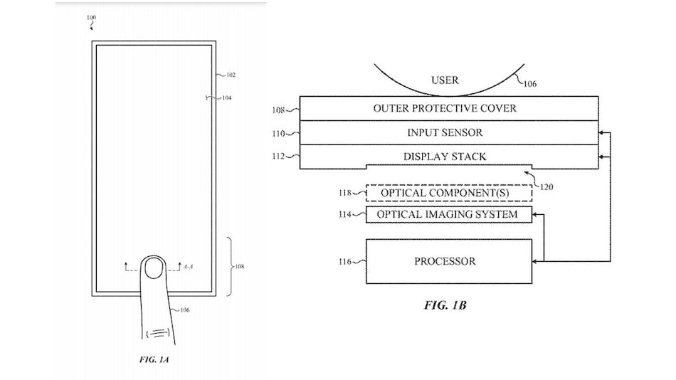 Apple Could Be Working on In-Display Infrared Fingerprint Scanner, Patent Suggests