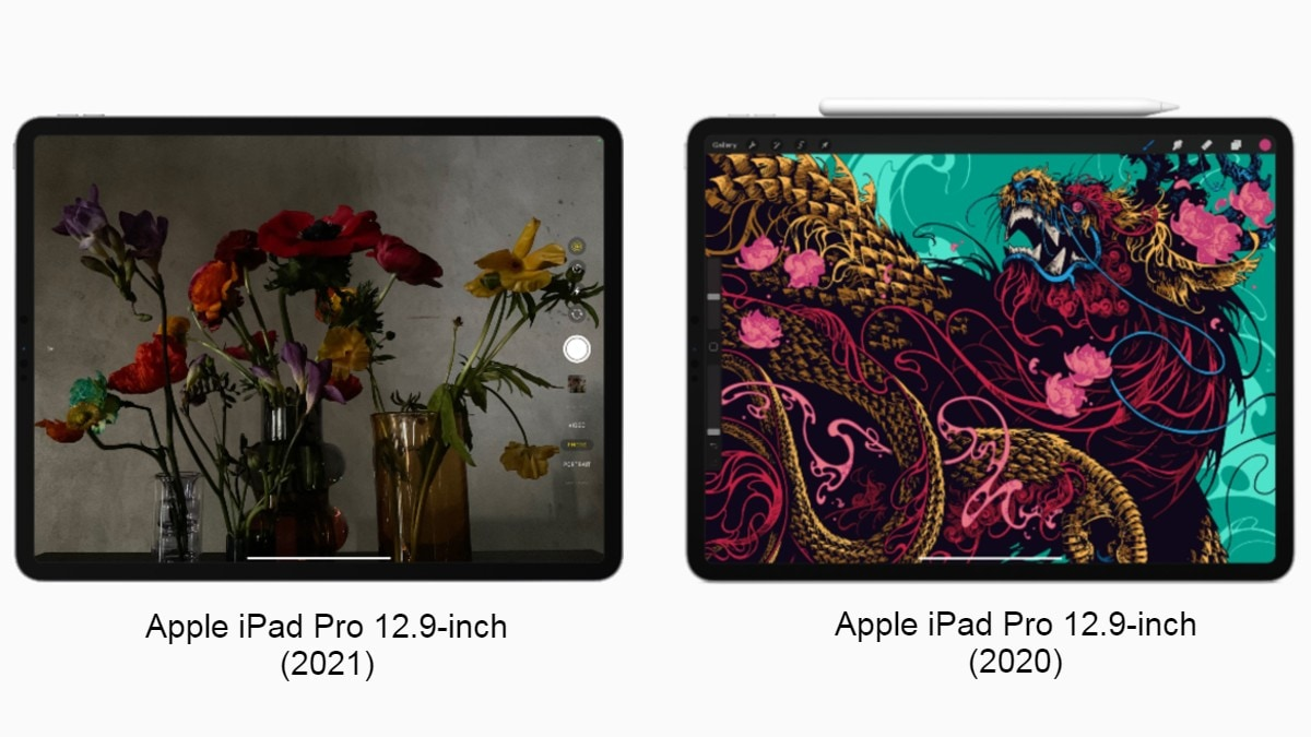 iPad Pro 12.9-inch (2021) vs iPad Pro 12.9 (2020): Price, Specifications Compared