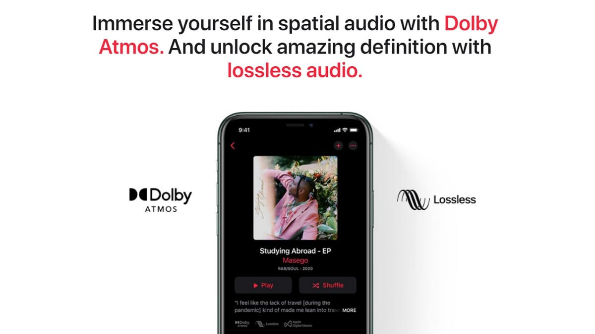 Apple Music Lossless, Dolby Atmos Makes Its Way to India; Android Beta Users Reportedly Get Lossless Audio