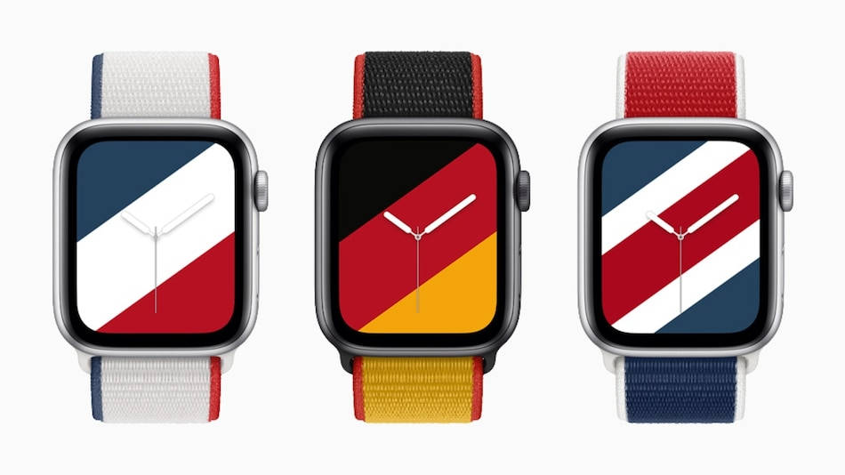 Apple Watch International Collection Sport Loop Bands, Stripes Faces Launched