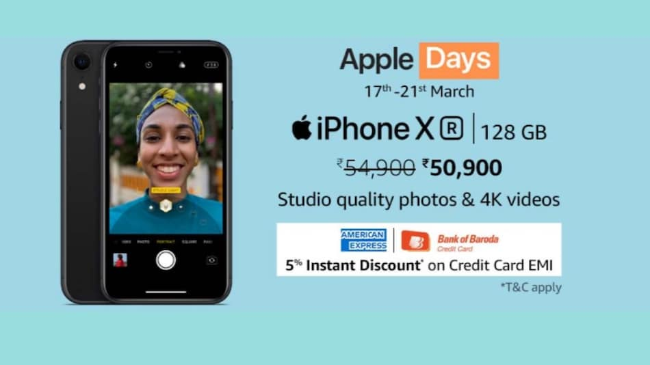 Amazon Apple Days Sale Now Live: iPhone XS Discount, Rs. 6,000 Bank Discount on iPhone 11, and More Deals