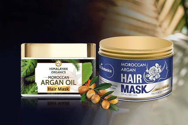 Argan Hair Masks For Nourished, Hydrated, Frizz Free Hair